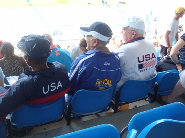 We Had A Designated TEAM USA Spot In the Stadium