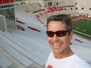 Stadium Steps At Indiana University, May 13