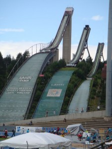 Ski Jumping Is Serious Business