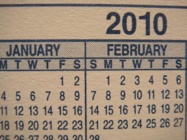 Pretty Soon, It'll Be 2011