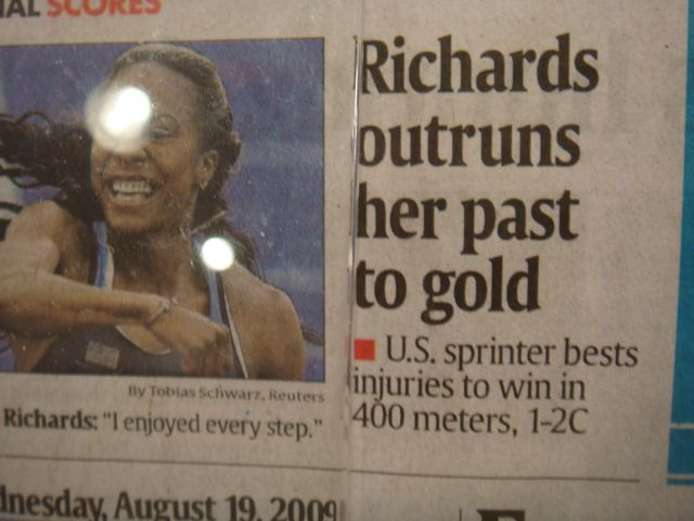 Sanya Richards Never Gave Up