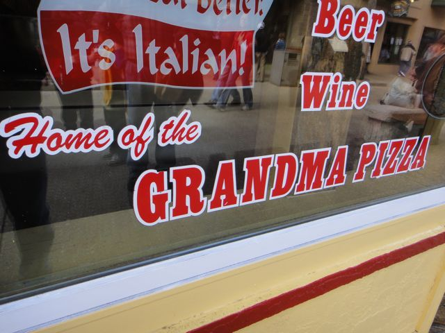 Home Of The Grandma Pizza